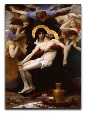 Pieta By Bouguereau Canvas Print or Poster  - Canvas Art Rocks - 1