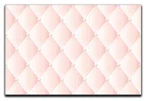 Pink upholstery vector abstract Canvas Print or Poster  - Canvas Art Rocks - 1