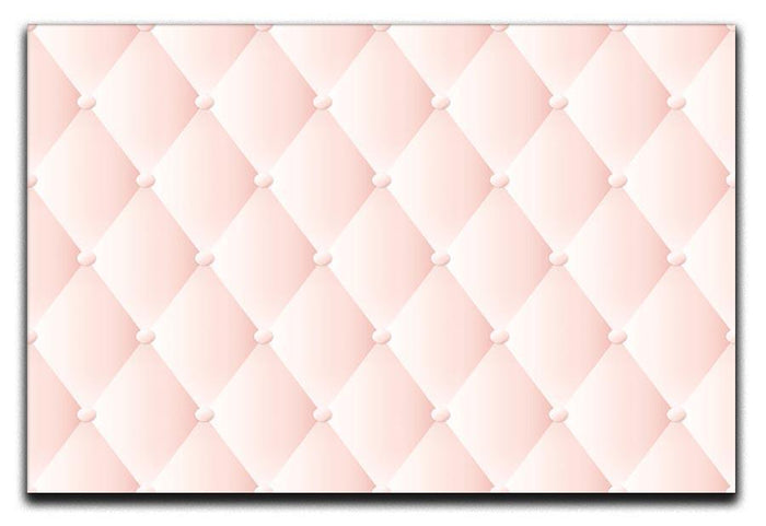 Pink upholstery vector abstract Canvas Print or Poster