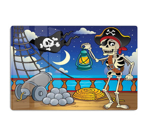 Pirate ship deck theme 6 HD Metal Print