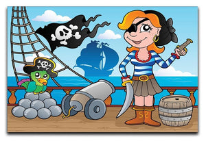 Pirate ship deck theme 8 Canvas Print or Poster  - Canvas Art Rocks - 1