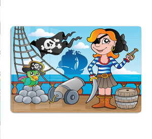 Pirate ship deck theme 8 HD Metal Print