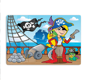 Pirate ship deck theme 9 HD Metal Print
