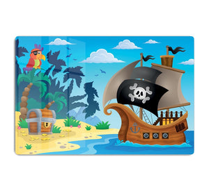 Pirate ship topic image 5 HD Metal Print