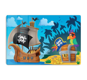 Pirate ship topic image 6 HD Metal Print