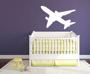 Plane Version 1 Wall Decal - US Canvas Art Rocks