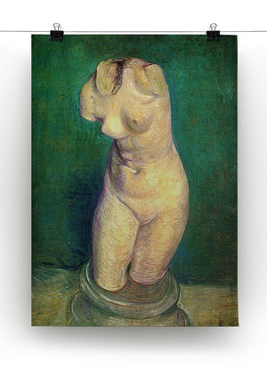 Plaster Statuette of a Female Torso by Van Gogh Canvas Print & Poster - Canvas Art Rocks - 2
