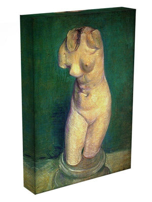 Plaster Statuette of a Female Torso by Van Gogh Canvas Print & Poster - Canvas Art Rocks - 3