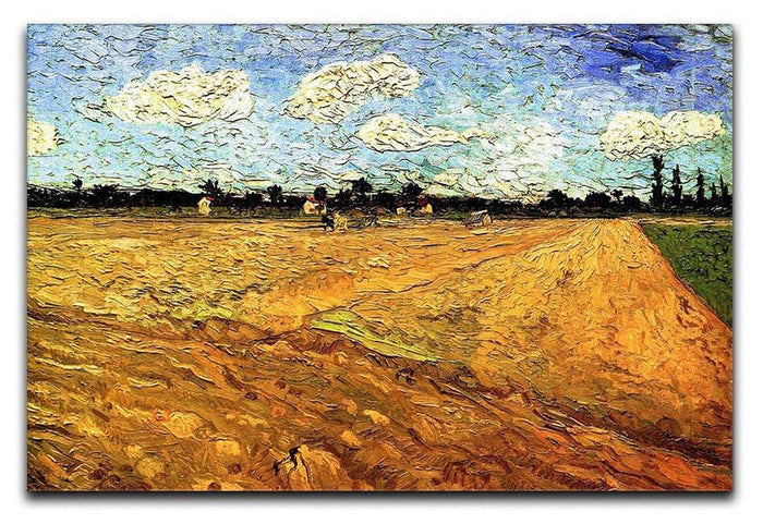 Ploughed Field by Van Gogh Canvas Print or Poster