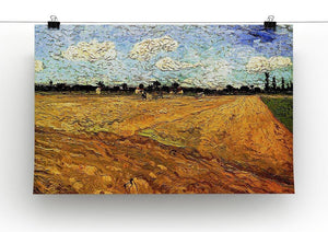 Ploughed Field by Van Gogh Canvas Print & Poster - Canvas Art Rocks - 2
