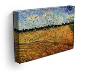 Ploughed Field by Van Gogh Canvas Print & Poster - Canvas Art Rocks - 3