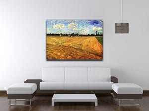 Ploughed Field by Van Gogh Canvas Print & Poster - Canvas Art Rocks - 4