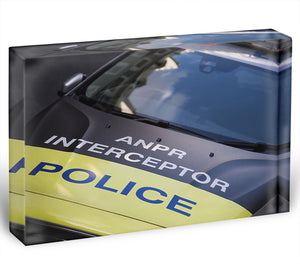 Police car Acrylic Block - Canvas Art Rocks - 1