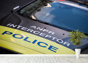 Police car Wall Mural Wallpaper - Canvas Art Rocks - 4