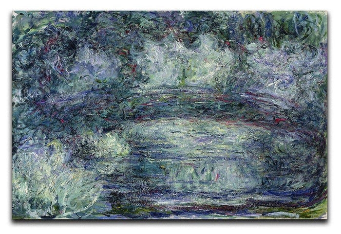 Pont Japonais Japanilainen silta by Monet Canvas Print or Poster