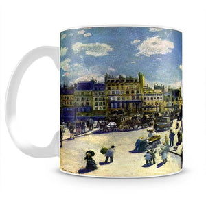 Pont Neuf by Renoir Mug - Canvas Art Rocks - 2