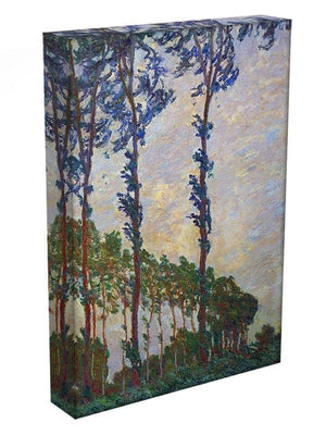 Poplar series wind by Monet Canvas Print & Poster - Canvas Art Rocks - 3