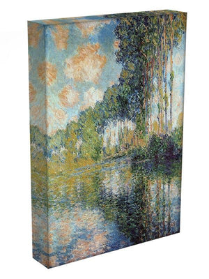 Poplars on the Epte by Monet Canvas Print & Poster - Canvas Art Rocks - 3