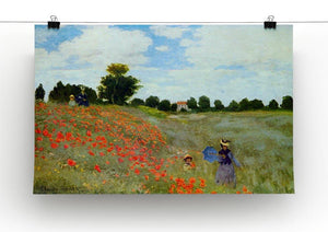Poppies by Monet Canvas Print & Poster - Canvas Art Rocks - 2