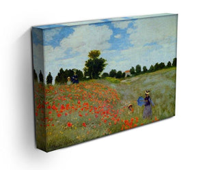 Poppies by Monet Canvas Print & Poster - Canvas Art Rocks - 3