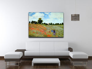 Poppies by Monet Canvas Print & Poster - Canvas Art Rocks - 4