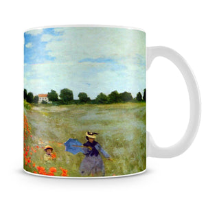 Poppies by Monet Mug - Canvas Art Rocks - 4