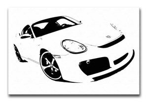 Porsche Cayman Print - Canvas Art Rocks - 1