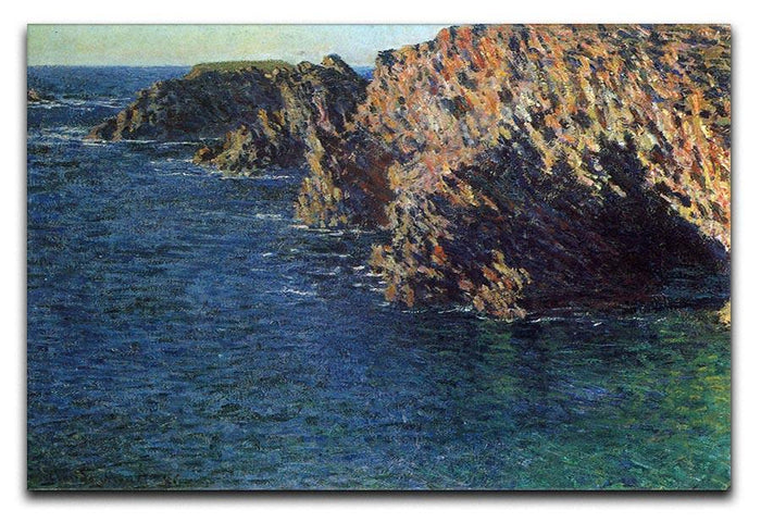 Port Domois by Monet Canvas Print or Poster