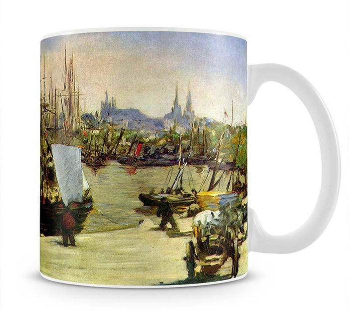 Port of Bordeaux by Manet Mug