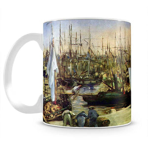 Port of Bordeaux by Manet Mug - Canvas Art Rocks - 2