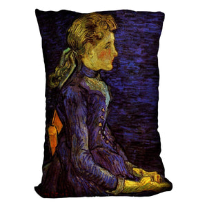 Portrait of Adeline Ravoux by Van Gogh Throw Pillow