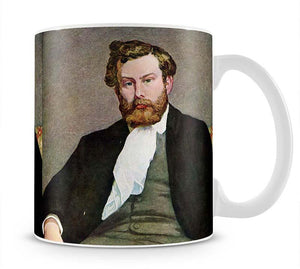Portrait of Alfred Sisley by Renoir Mug - Canvas Art Rocks - 1
