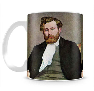 Portrait of Alfred Sisley by Renoir Mug - Canvas Art Rocks - 2