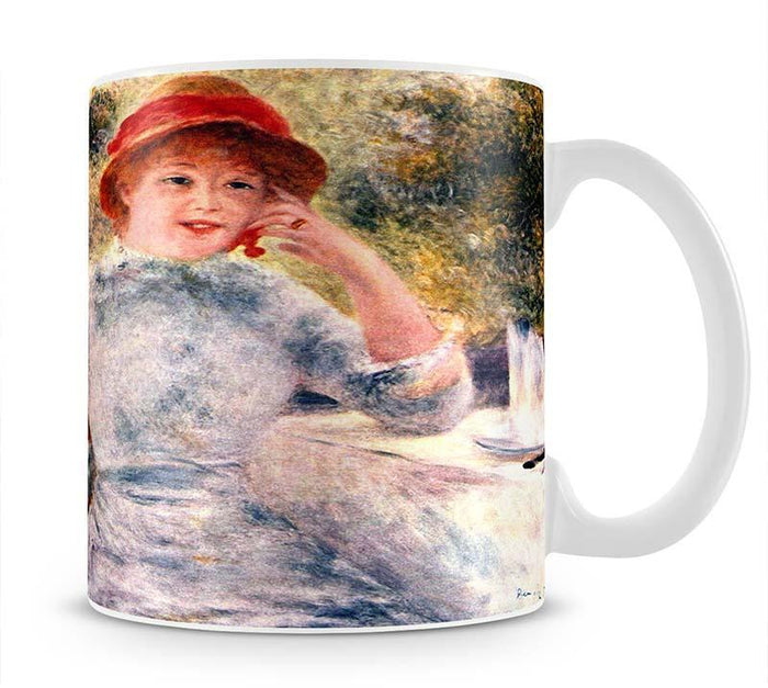 Portrait of Alphonsine Fournaise by Renoir Mug