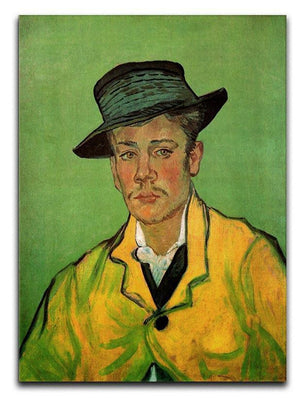 Portrait of Armand Roulin by Van Gogh Canvas Print & Poster  - Canvas Art Rocks - 1