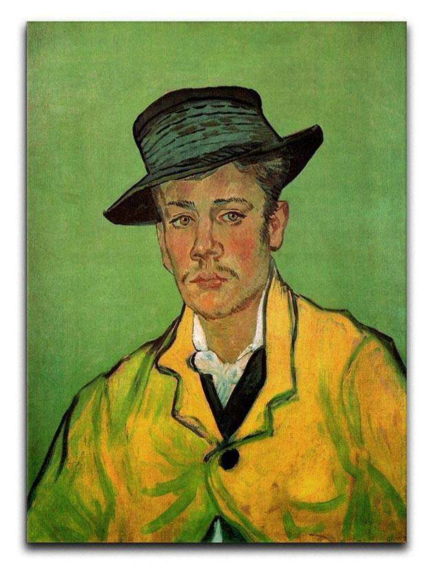 Portrait of Armand Roulin by Van Gogh Canvas Print or Poster