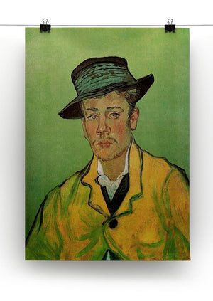 Portrait of Armand Roulin by Van Gogh Canvas Print & Poster - Canvas Art Rocks - 2