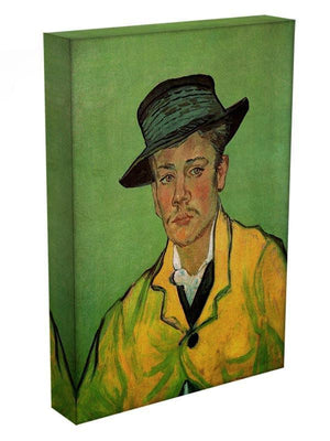 Portrait of Armand Roulin by Van Gogh Canvas Print & Poster - Canvas Art Rocks - 3