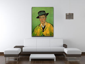 Portrait of Armand Roulin by Van Gogh Canvas Print & Poster - Canvas Art Rocks - 4