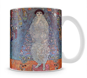 Portrait of Baroness Elisabeth Bachofen by Klimt Mug - Canvas Art Rocks - 1