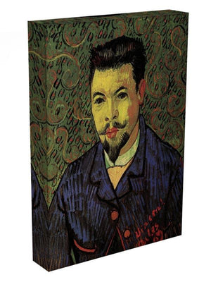 Portrait of Doctor Felix Rey by Van Gogh Canvas Print & Poster - Canvas Art Rocks - 3