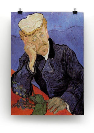 Portrait of Doctor Gachet by Van Gogh Canvas Print & Poster - Canvas Art Rocks - 2