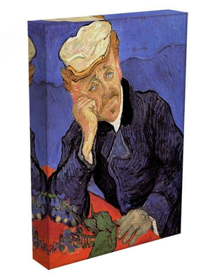 Portrait of Doctor Gachet by Van Gogh Canvas Print & Poster - Canvas Art Rocks - 3