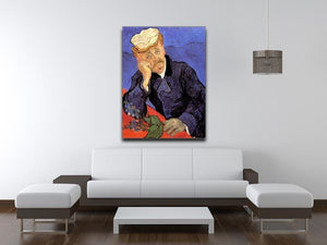 Portrait of Doctor Gachet by Van Gogh Canvas Print & Poster - Canvas Art Rocks - 4