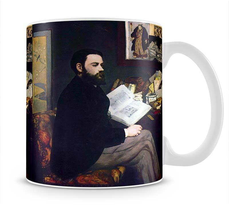 Portrait of Emile Zola by Manet Mug - Canvas Art Rocks - 1