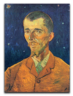 Portrait of Eugene Boch by Van Gogh Canvas Print & Poster  - Canvas Art Rocks - 1