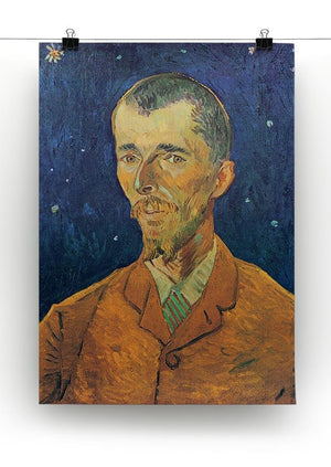 Portrait of Eugene Boch by Van Gogh Canvas Print & Poster - Canvas Art Rocks - 2