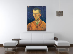 Portrait of Eugene Boch by Van Gogh Canvas Print & Poster - Canvas Art Rocks - 4