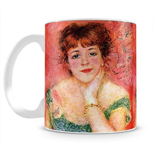 Portrait of Jeanne Samary by Renoir Mug - Canvas Art Rocks - 2