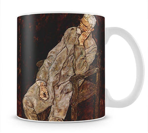 Portrait of Johan Harms by Egon Schiele Mug - Canvas Art Rocks - 1